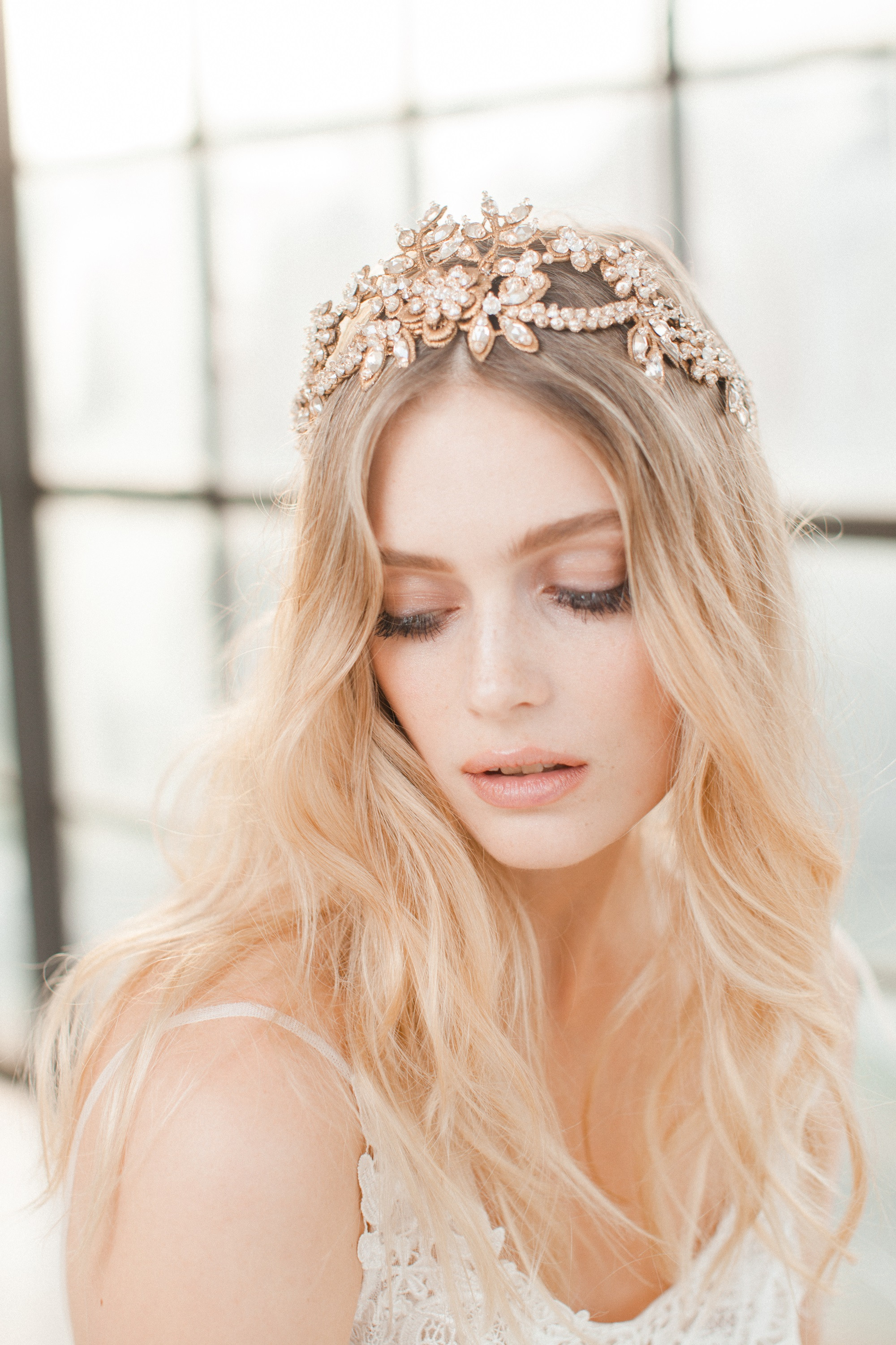 FRANKIE - bridal headpiece