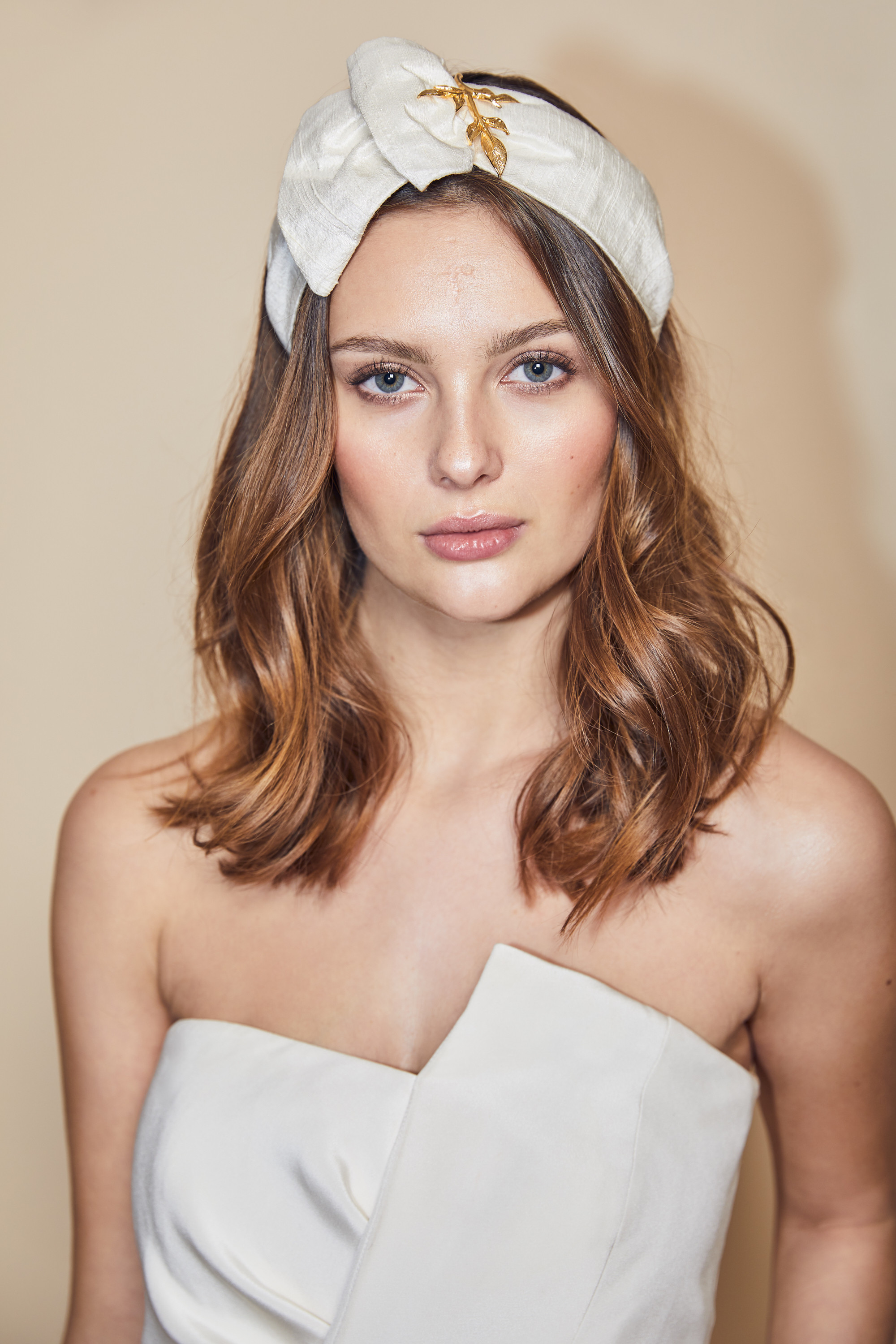 THERESE SILK HEADBAND