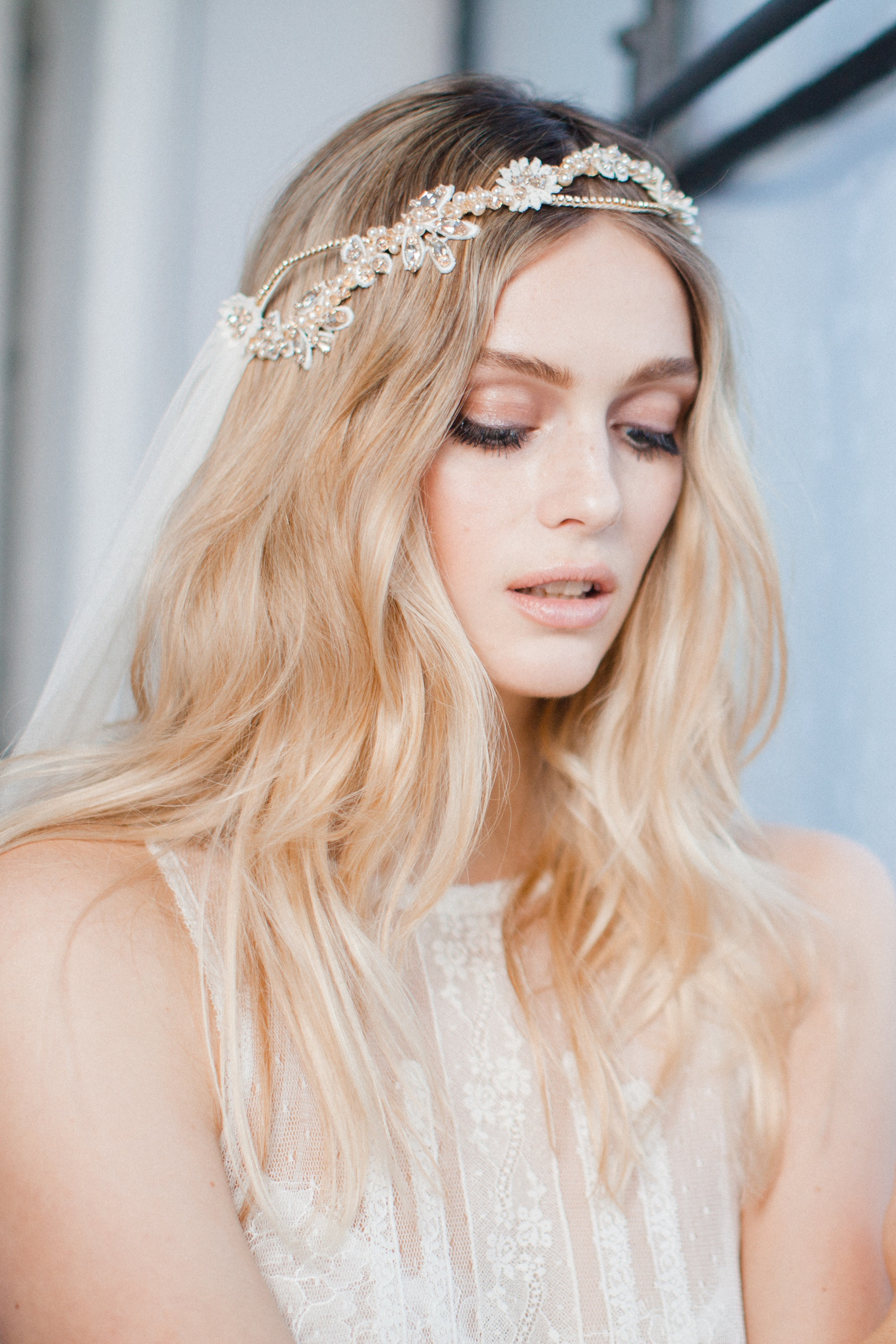 MABEL - boho wedding veil