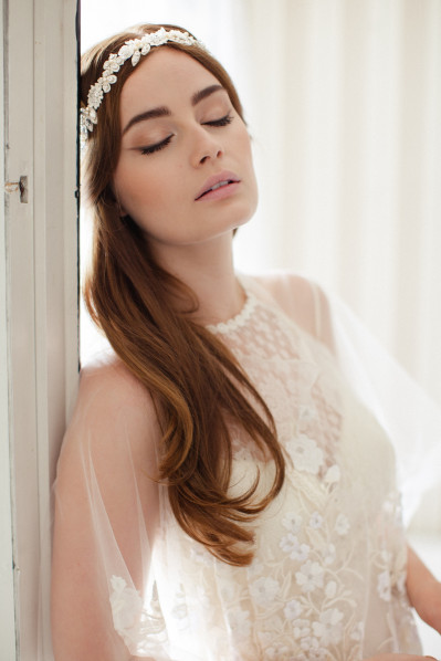 FREJA - Bridal headpiece
