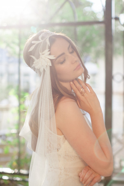 SIENNA - boho wedding veil