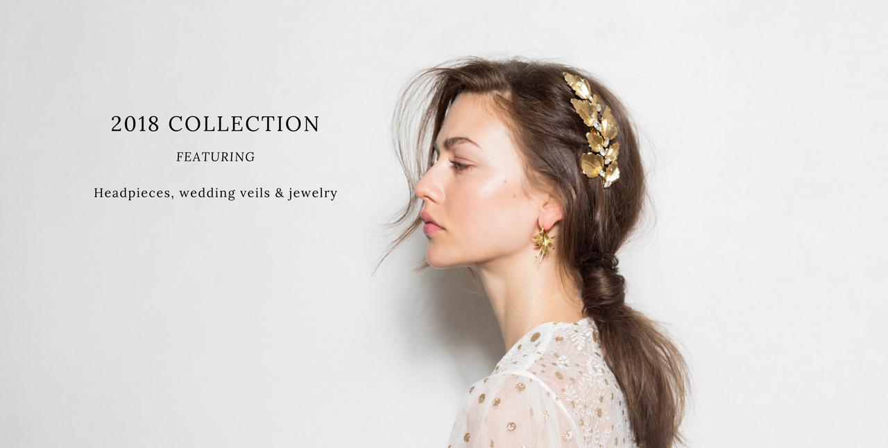 Wedding Headpieces and Veils   by Jannie Baltzer Copenhagen